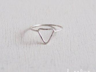 【受注制作】- Silver -  Triangle  Ringの画像
