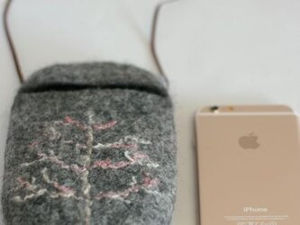 冬のcocoon(白樺 チャコール)Lサイズの画像