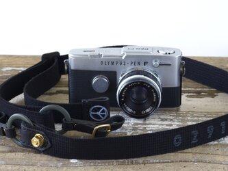 BOLT DOWN BLACKカメラストラップ[受注生産]の画像