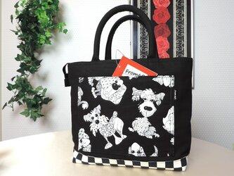 [販売済] MONOTONE DOG From60 TOTE BAGの画像