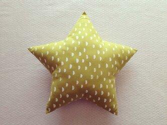 クッション star(M) ハーフムーン・ラフランスの画像