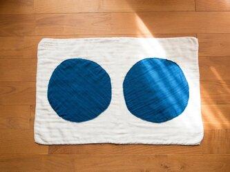 バスマット 藍染〇〇の画像