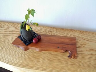 木のテーブルランナー・梅no.1の画像