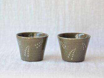 萩のカップの画像