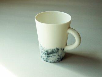 磁器マグカップfeeling blueの画像