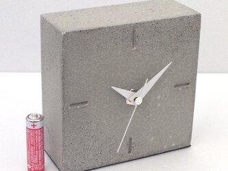 コンクリート置き時計 B-typeの画像