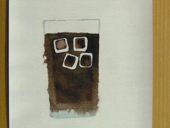 ゆる絵 ice coffee A3の画像