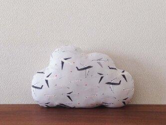 クッション cloud(S) 飛行機の画像