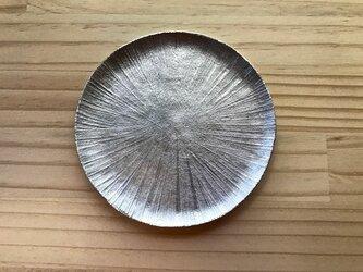 錫製 皿(光彩)の画像