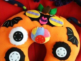 【受注製作】10月のくびまくら 『ハロウィン おっぱいまん 』の画像