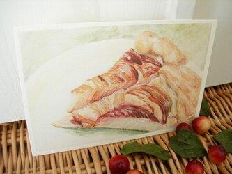 apple pie / postcard 2枚組の画像