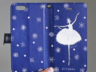 (Android) 雪の女王 手帳型スマホケースの画像
