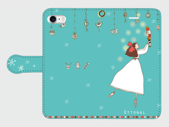 (iPhone)クララ 手帳型スマホケースの画像