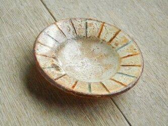 豆皿 百色(ももいろ)象嵌 麦藁の画像