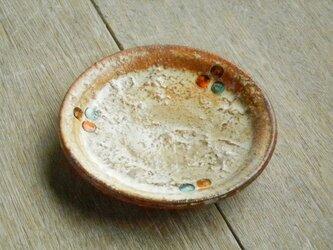 豆皿 百色(ももいろ)象嵌 丸紋の画像