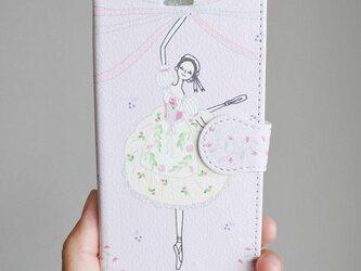 (iPhone)リーズの結婚 手帳型スマホケースの画像