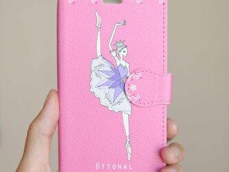 (iPhone)リラの精 手帳型スマホケースの画像