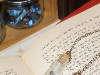 鉱物の入った小瓶のペンダント(小)の画像