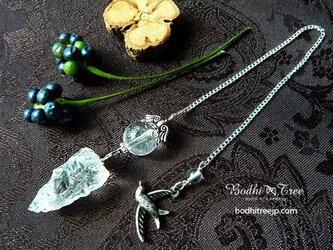 ヒマラヤ水晶原石ペンジュラム(ペンデュラム)の画像