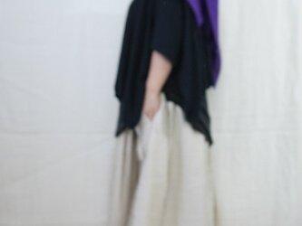 《展示》大判ビッグストール 刺し子糸でステッチの画像