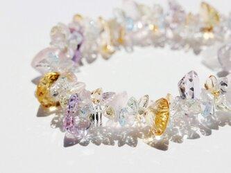6stone jewel.ミックスカットブレスレット(一点もの)の画像