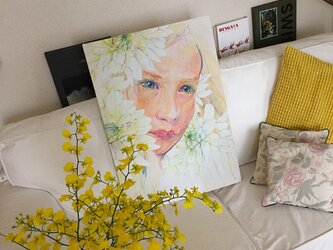 painting print canvasの画像