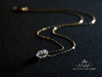 [14kgf] herkimer diamond etoile~ハーキマーの一粒ネックレスの画像