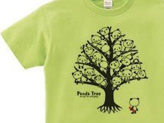 【再販】パンダ・ツリー 片面 WS~WM•S~XL  Tシャツ【受注生産品】の画像