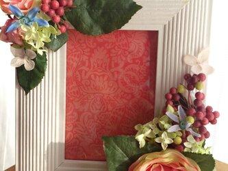flowerフォトフレームの画像