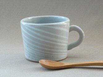 練り込みしましま模様のマグカップの画像