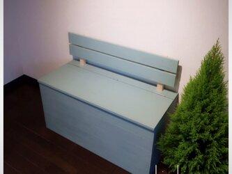 【ミンティ】収納ボックス ベンチ 椅子 棚 北欧スタイルの画像