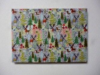 かわいいクリスマス!ファブリックパネルの画像