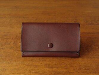 【受注生産】Business Card Case/choco×oliveの画像