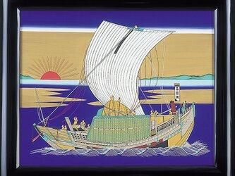 北前船絵馬の画像
