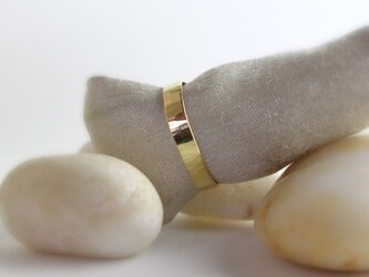 gold K18 Ring 0046の画像