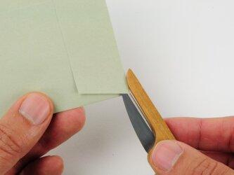チークのペーパーナイフの画像