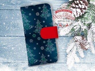 【全機種対応】送料無料☆【手帳型】クリスマス限定スマホケース No.2の画像