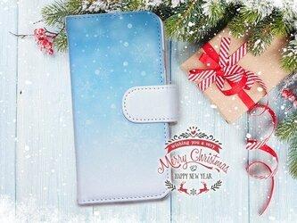 【全機種対応】送料無料☆【手帳型】クリスマス限定スマホケース No.5の画像