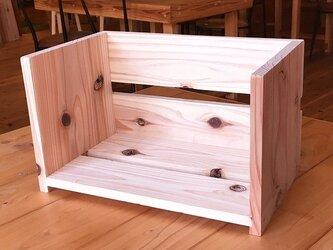 【本棚】釘打ちトントン簡単木工 DIY キットの画像