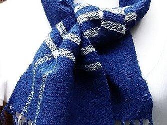 【No.0923】草木染手織りマフラー(絹100%)の画像