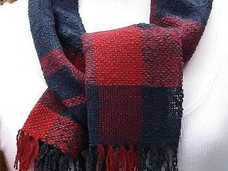 【No.0892】草木染手織りマフラー(絹100%)の画像