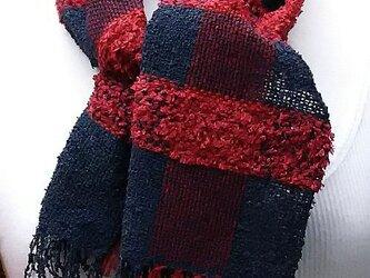 【No.0901】草木染手織りマフラー(絹100%)の画像