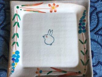 再出品・朝のパン皿の画像