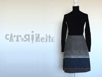 [受注生産]イタリア人作家の秋冬・北欧テイストのスカートの画像