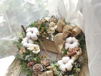 リース 森のクリスマス 3の画像