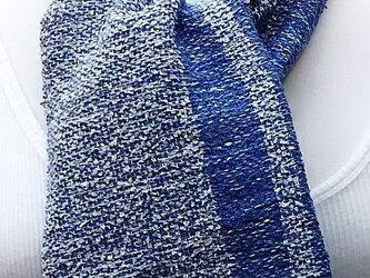 【No.0878】草木染手織りマフラー(絹100%)の画像