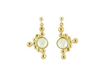 Light_tate Pierced Earringsの画像