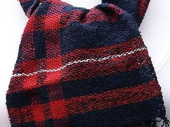 【No.0943】草木染手織りマフラー(絹100%)の画像