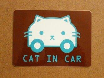 ☆★車用CAT IN CARサインマグネット★☆ネコちゃん用☆の画像