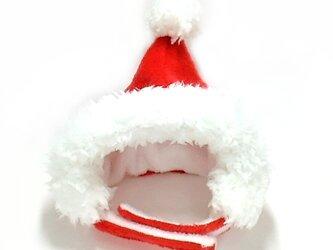 サンタさんの帽子(赤)【S/M/L】の画像